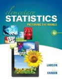 Elementary Statistics: Picturing the World