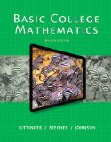 Basic College Mathematics (Bittinger)