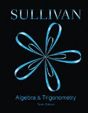 Algebra and Trigonometry (Sullivan)