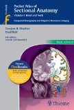 Pocket Atlas of Sectional Anatomy: Computed Tomography and Magnetic Resonance Imaging, Head and Neck, Volume 1